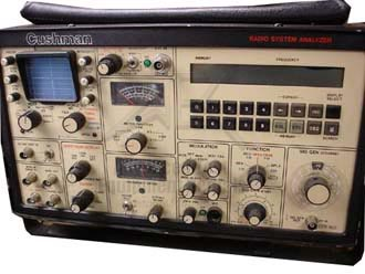 Cushman CE-6030 Radio System Analyzer
