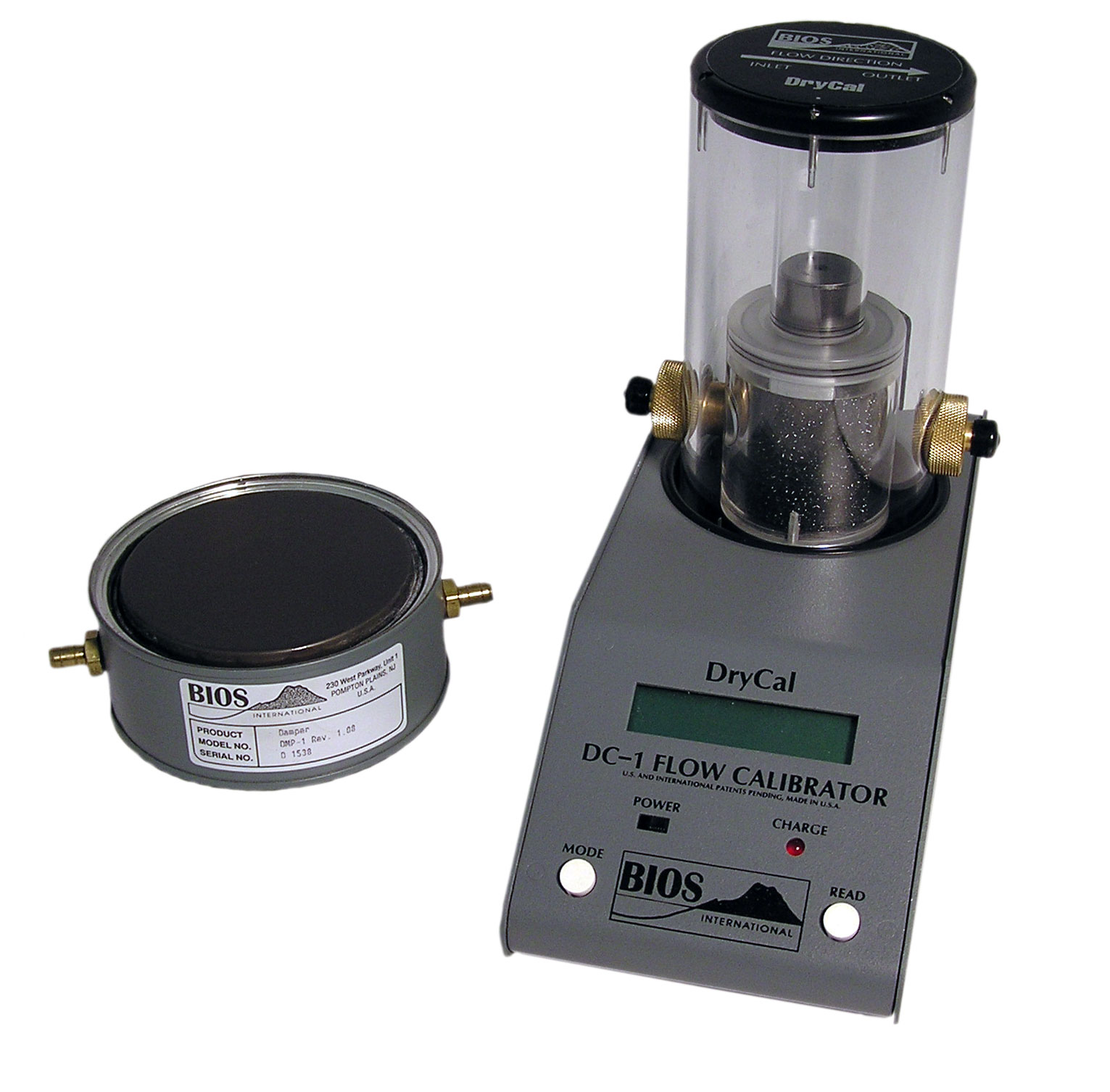 BIOS DC-1 DryCal Flow Calibrator