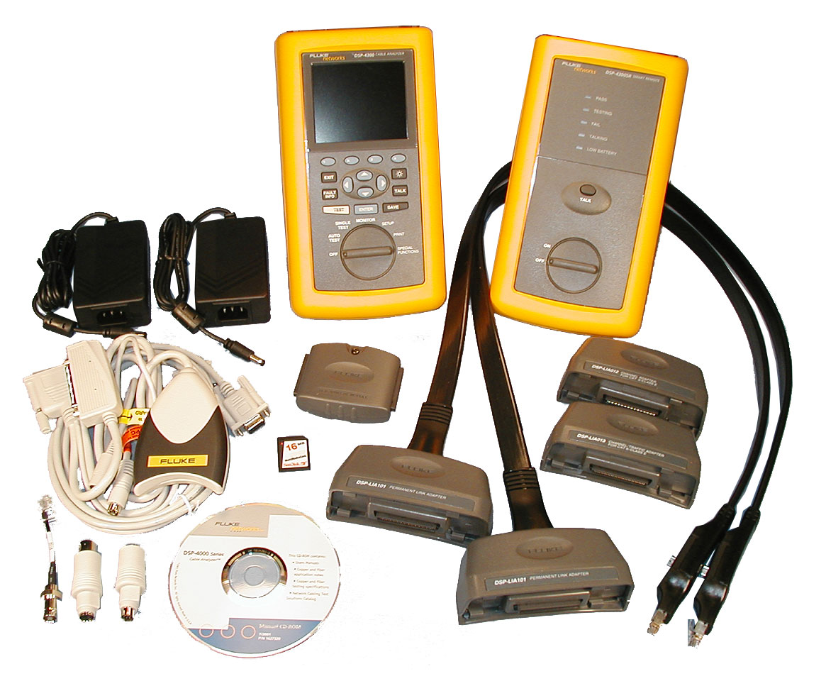 dsp 4300 fluke networks test equipment atec rh atecorp com fluke networks dsp-4300 user manual Fluke 4300 DSA