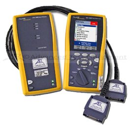 Rent Fluke DTX-1800 Level IV Cat 5E/6/7 Cable Analyzer & Certifier