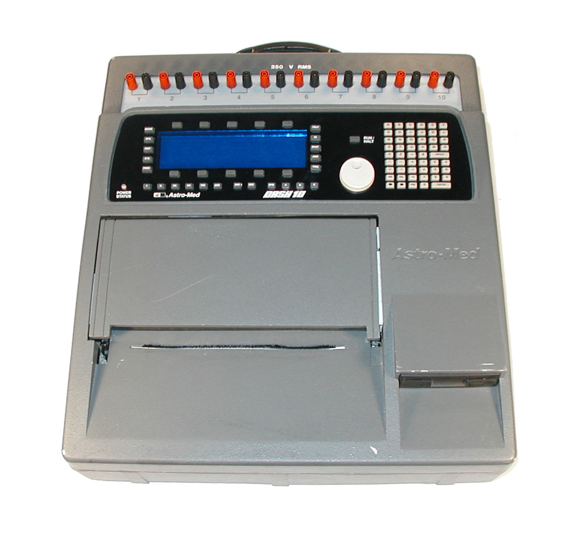 Astro-Med Dash 10 Ten Channel Thermal Chart Recorder