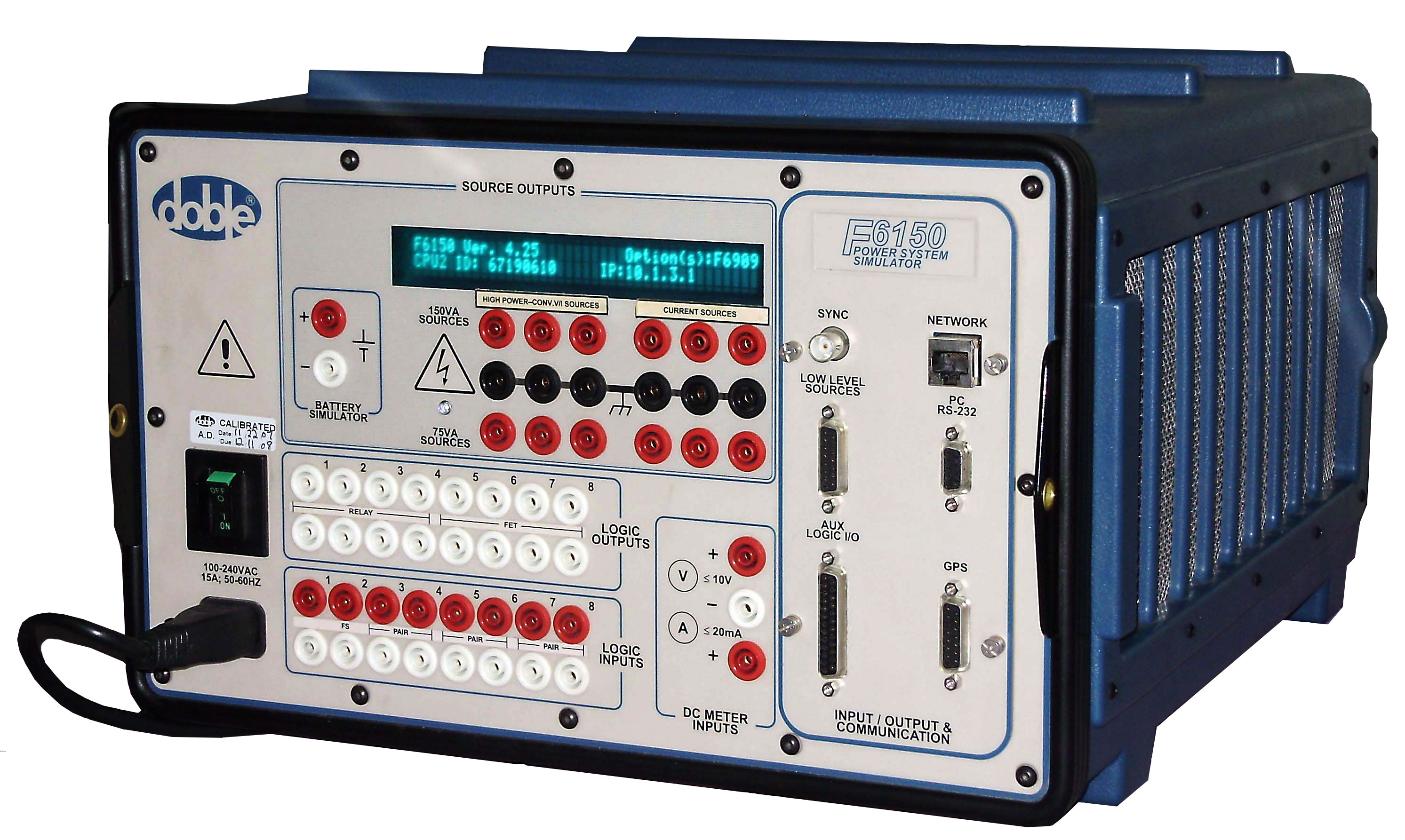 Doble F6150 Protective Relay Test Set