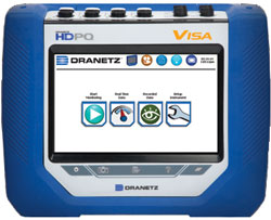 Dranetz HDPQ Visa Power Quality & Energy Monitoring Analyzer