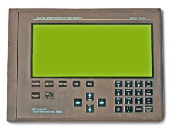 Dynamic Instruments DI-303 Digital Vibration Survey Instrument