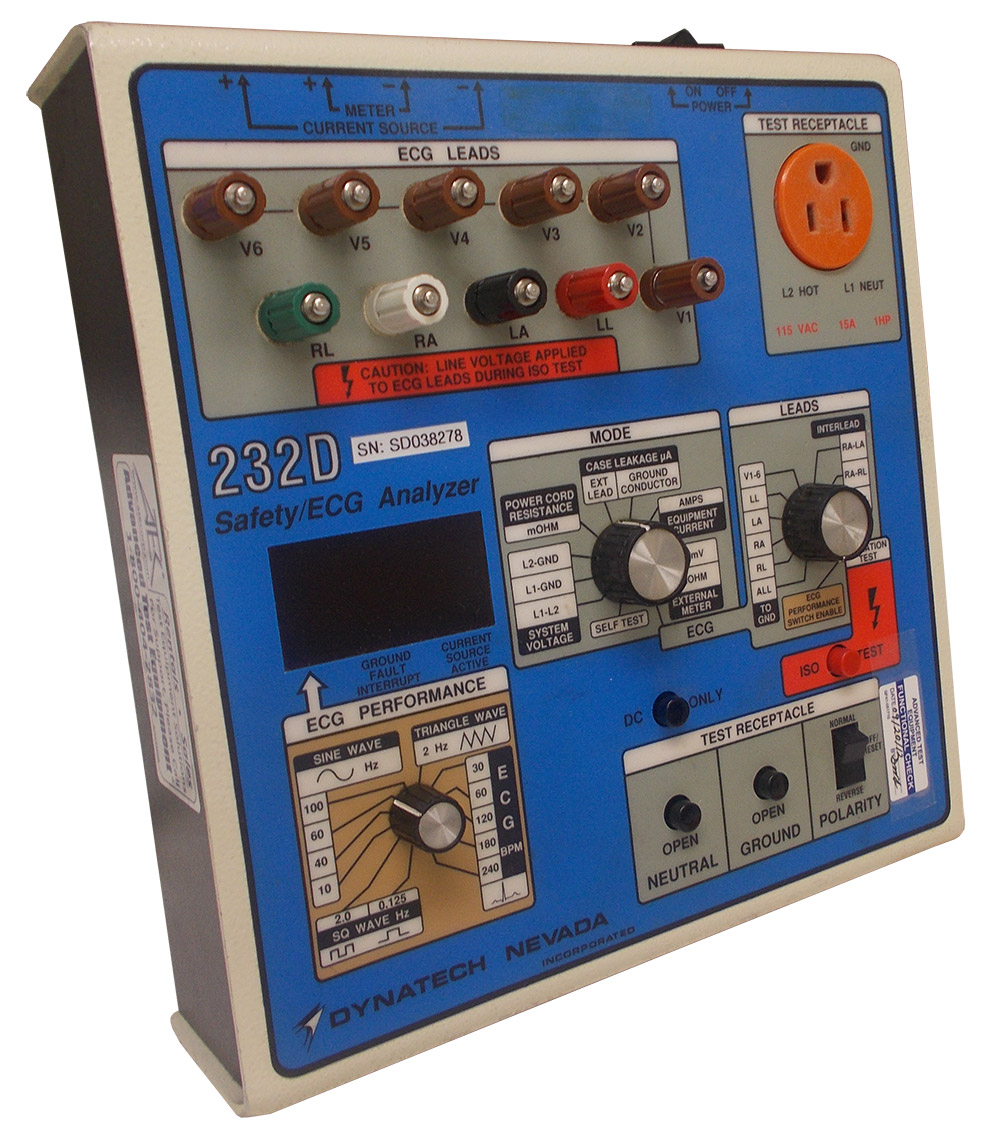 Rent Dynatech Nevada 232D Electrical Safety Analyzer