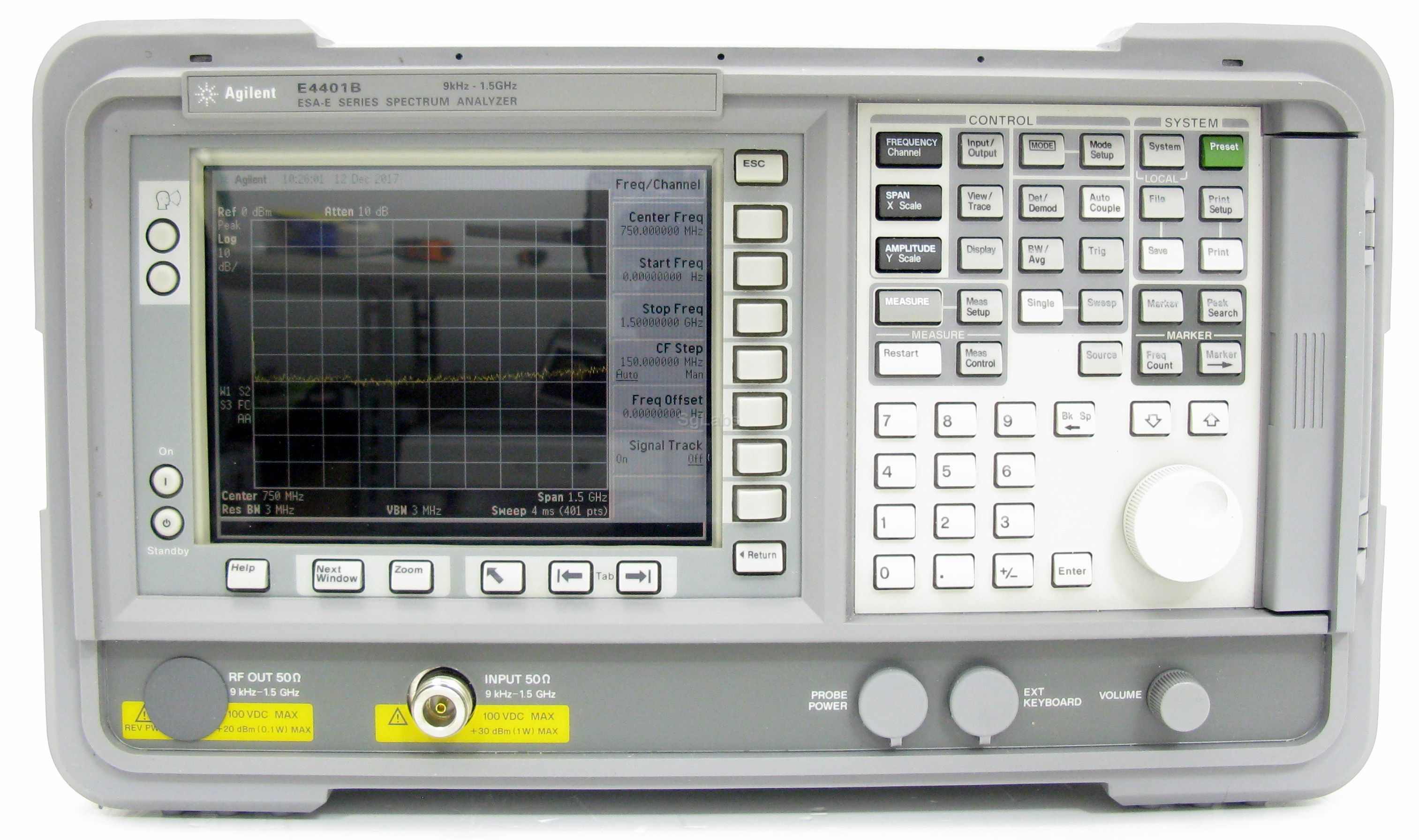 Keysight E4401B ESA-E Series Spectrum Analyzer