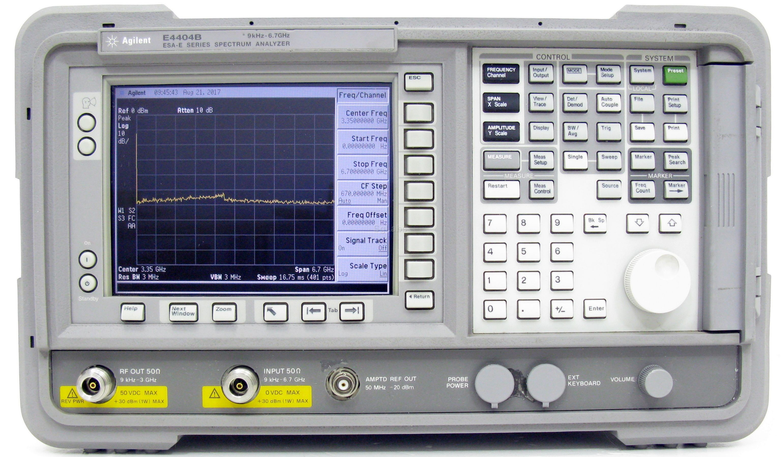 Keysight E4404B  ESA-E Spectrum Analyzer