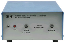 Rent ENI 601L RF Power Amplifier, 0.8 MHz to 1000 MHz, 1.2 W, 37 dB