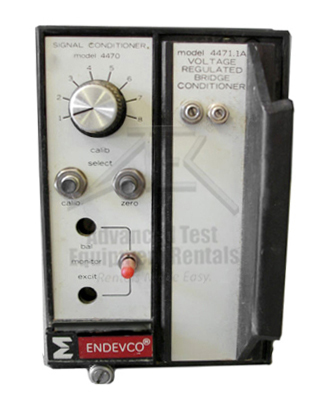 Endevco 4470 / 4471.1 Resistance Bridge Signal Conditioner System