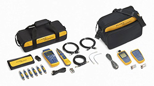 Fluke CableIQ Copper and Fiber Technician's Kit