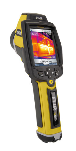 Flir B50 High-Resolution Thermal Imaging Camera