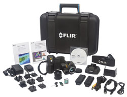 FLIR T420sc Thermal Camera Benchtop Test Kit