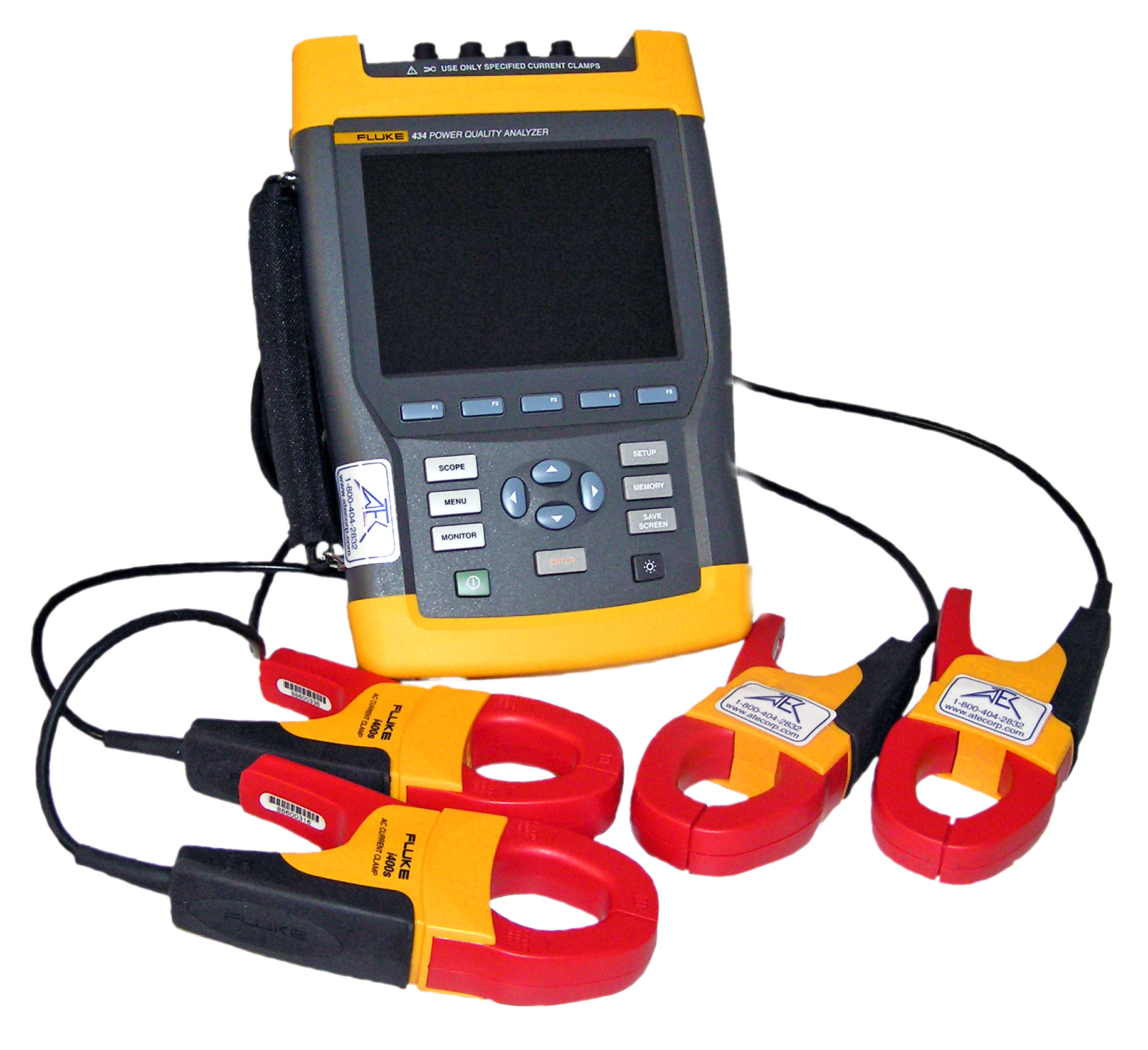 Fluke 434, 3-Phase Power/Electrical Meter