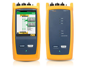 Fluke Versiv CertiFiber Pro Optical Loss Test Set