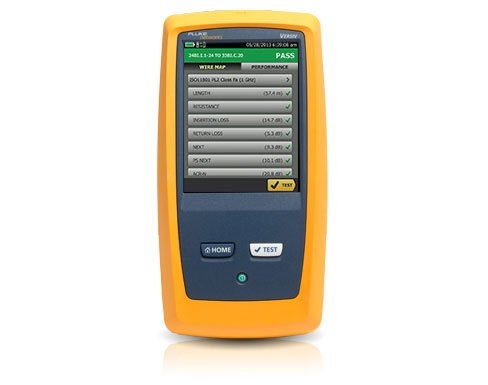 Fluke DSX2-5000 CableAnalyzer Copper Cable Certifier