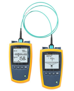 Rent Fluke MultiFiber Pro Optical Power Meter and Fiber Test Kits