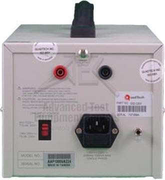 Quadtech G32 1000VA Isolation Transformer