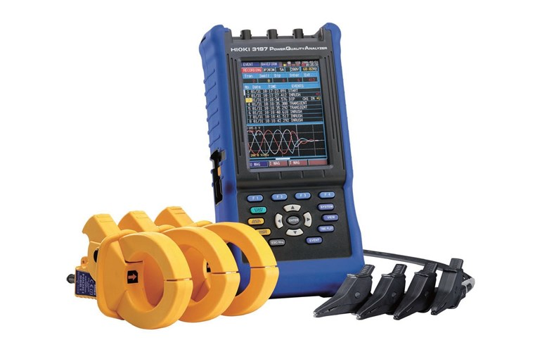 Hioki 3197 Power Quality Analyzer Inrush Current