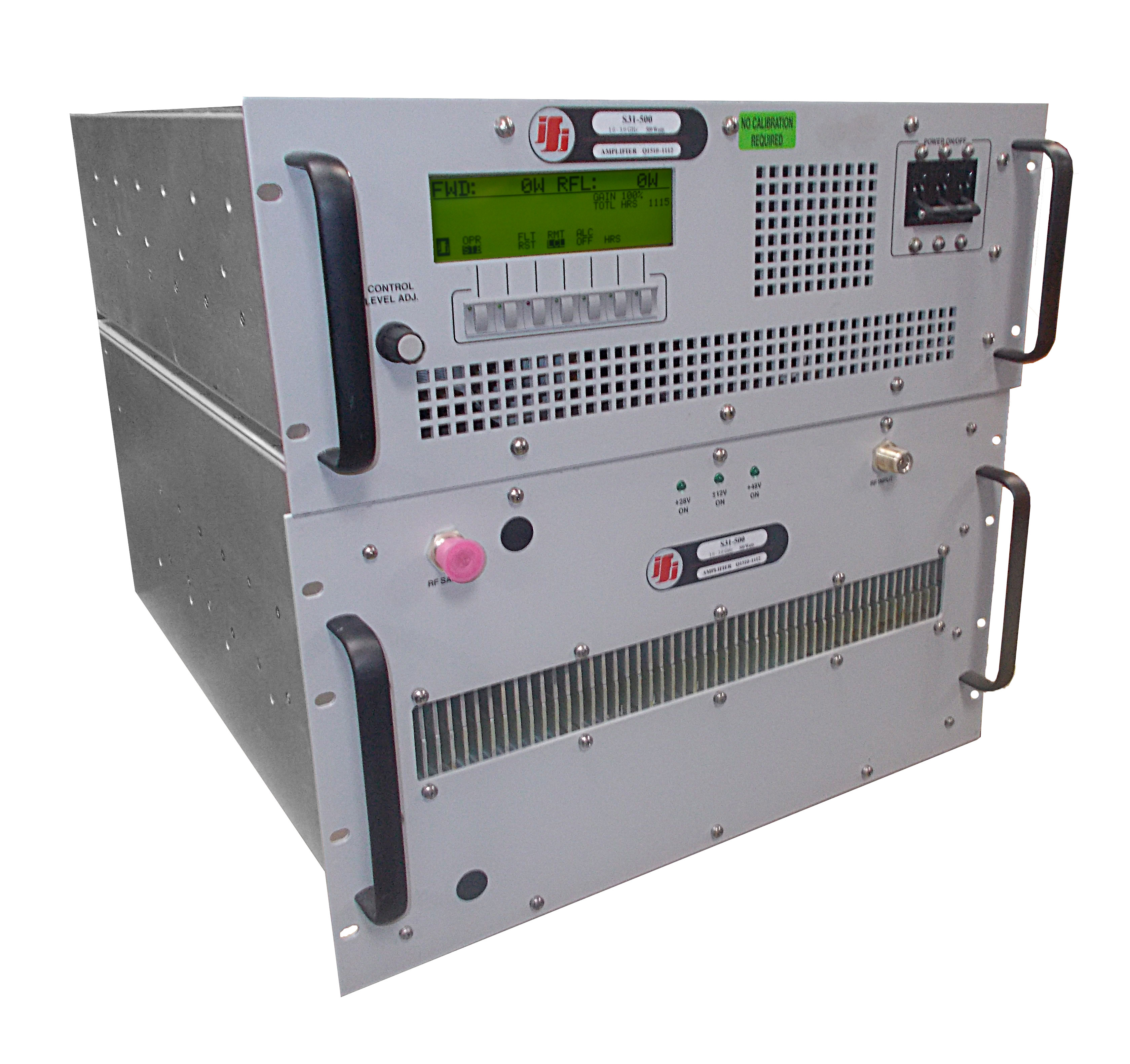 IFI S31-500 Solid State RF Power Amplifier 800 MHz - 3 GHz, 500 Watts