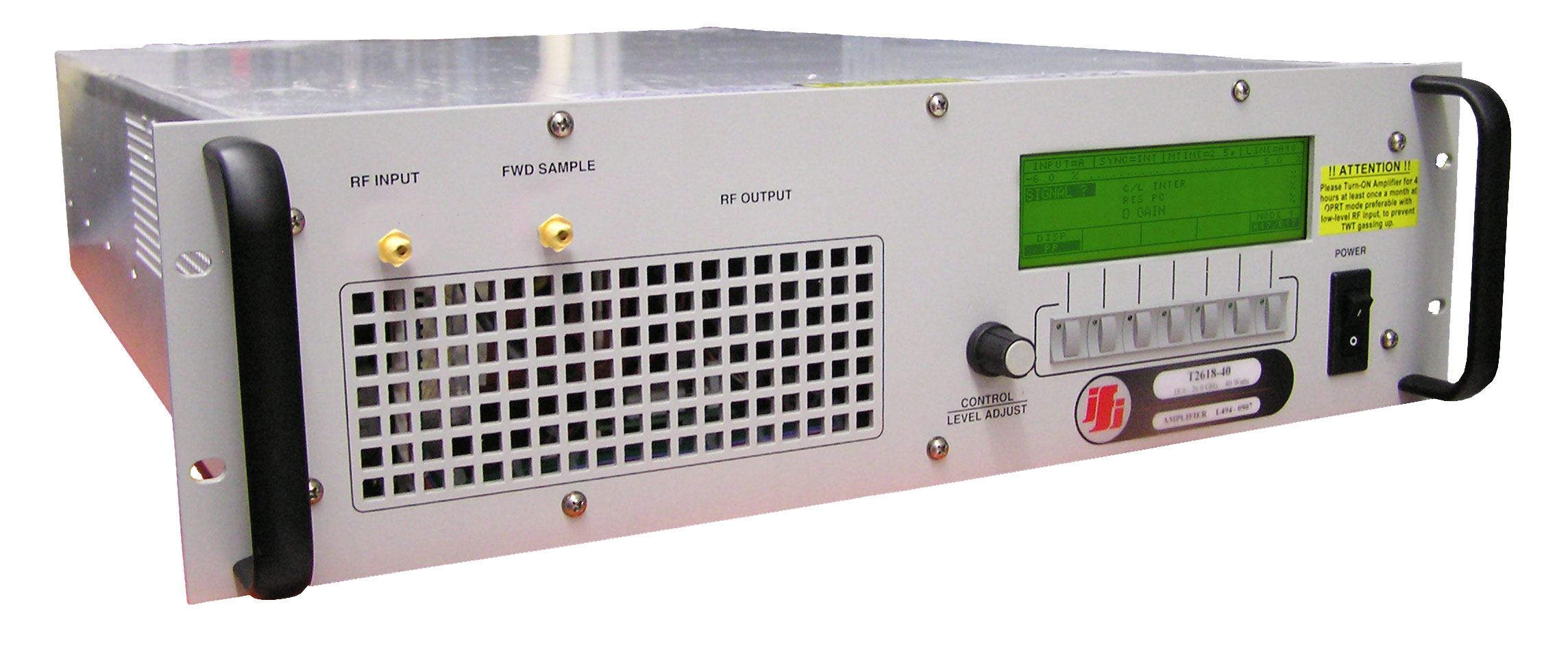 Rent IFI T2618-50 Millimeter TWT Amplifier 18 GHz - 26.5 GHz, 50 Watt