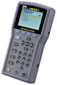Ideal LANTEK 7 LAN Cable Certifier