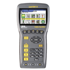 Rent Ideal LANTEK II Cable Certifier