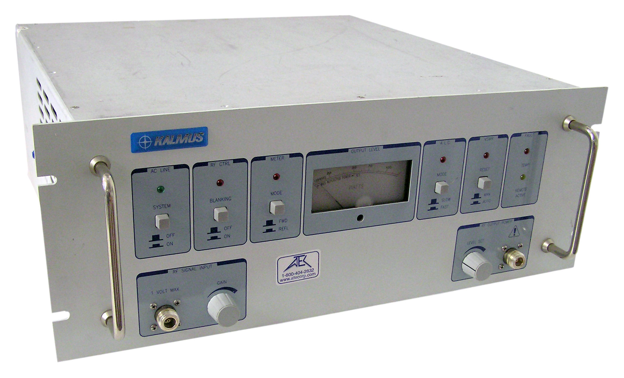 Kalmus LA100H 100 W Broadband RF Power Amplifier