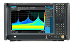 Keysight N9040B UXA Signal Analyzer, Multi-touch, 3 Hz to 50 GHz