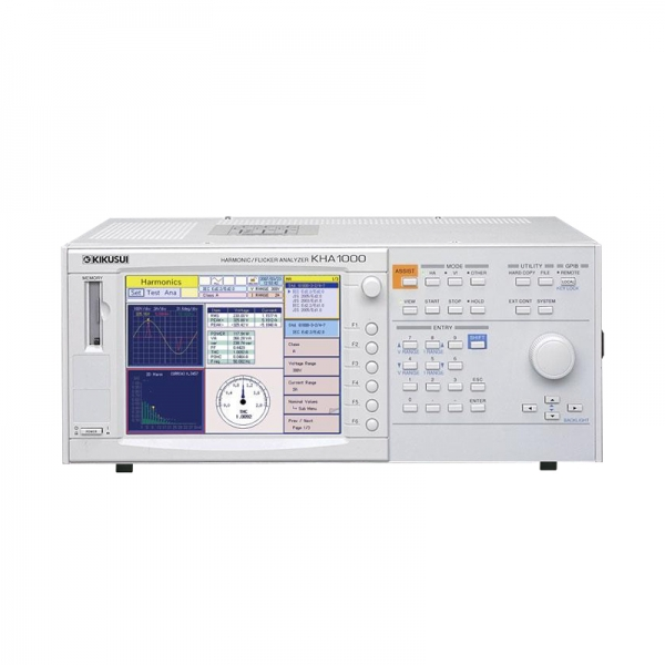 Rent, lease, buy used Kikusui KHA1000 16A/1PH Harmonics/Flicker Analyzer for IEC 61000-3-2 & 3-3