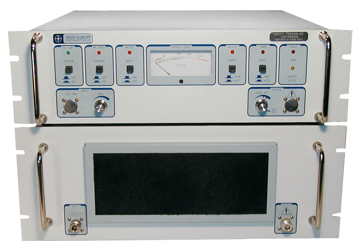 Kalmus LA200G Broadband RF Power Amplifier