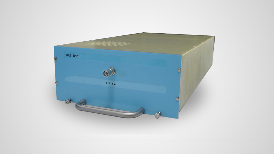 EMC Partner MIL3-SPIKE Plugin for MIL3000 Test System
