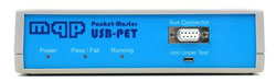 MQP Electronics Packet-Master USB-PET Protocol and Electric Tester