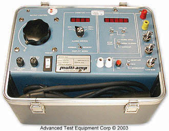 Multi-Amp/Megger MS-2 Circuit Breaker Test Set