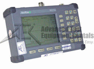 Anritsu MS2711-5 Hand Held Spectrum Analyzer 100 kHz - 3000 GHz with RF Watt Power Monitor