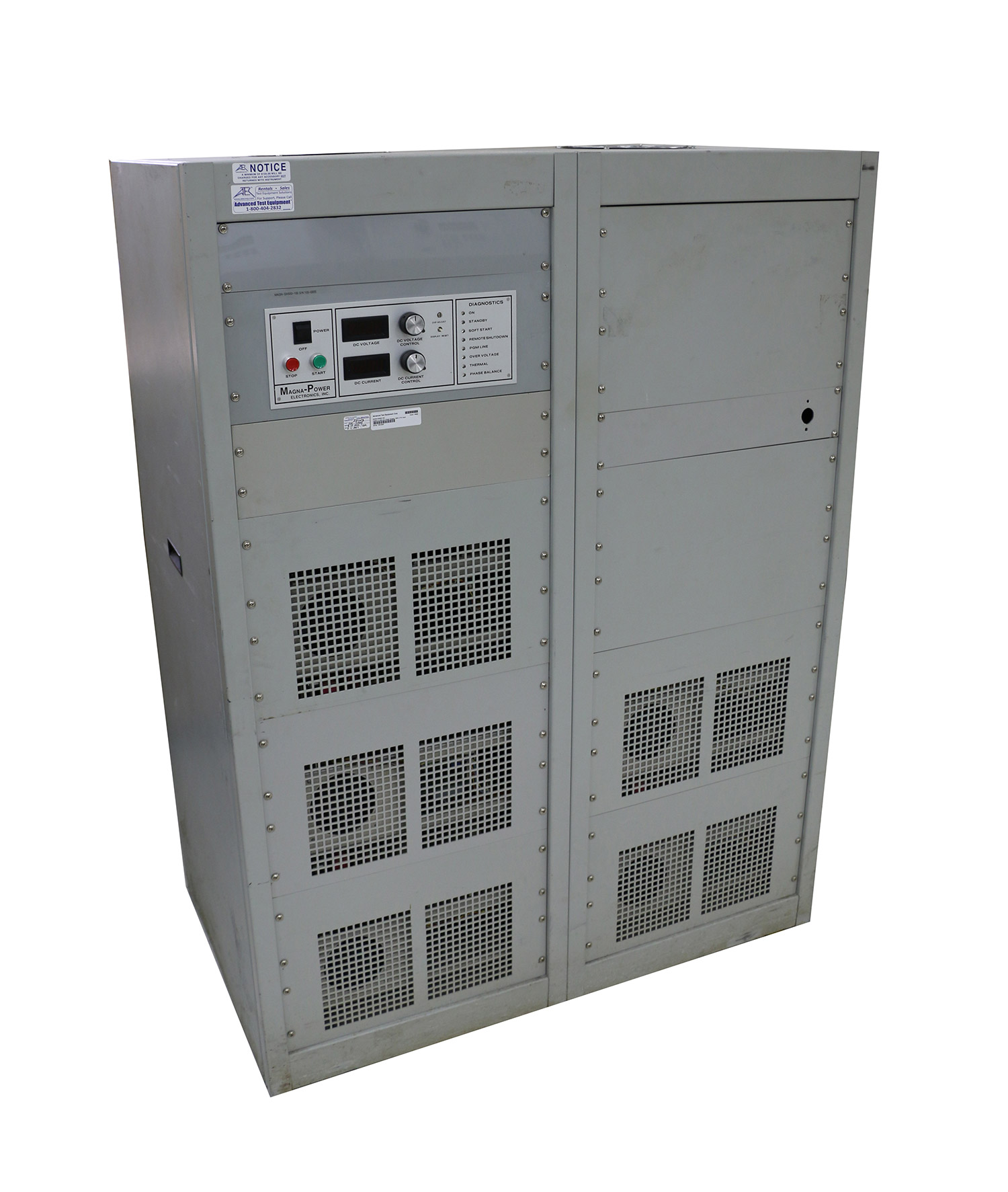 Dc Power Supply Atec Rentals In Series To Produce Two Output Voltages The Voltage Is 240 V Magna Sx500 100 Programmable Source