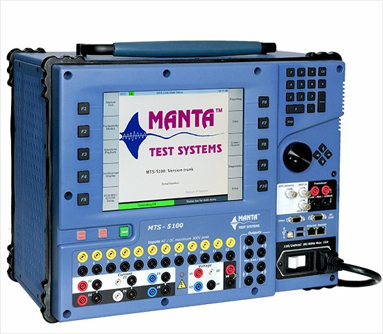 Manta Test Systems MTS-5100 Protective Relay Test System