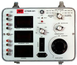 Megger CTER91 Current Transformer Test Set
