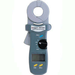 Megger DET20C Earth/Ground Resistance & Leakage Current Clamp Tester