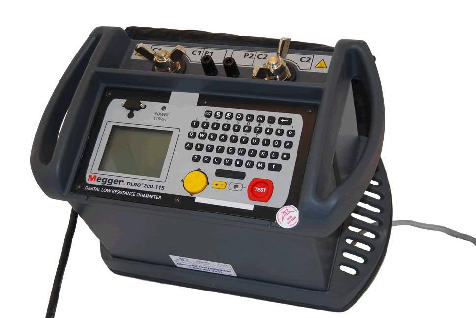 Rent, lease, or rent to own Megger DLRO200-115 High Current Digital Low Resistance Ohmmeter, 200 Amp