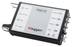 Rent Megger FRAX 101 Sweep Frequency Response Analyzer