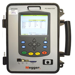 Megger MPQ2000 Portable Power Quality Analyzer