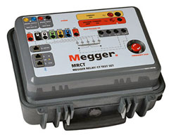 Megger MRCT Relay and Current Transformer Test Set