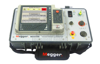 Rent Megger MTO330 Automated Six-Winding Transformer Ohmmeter