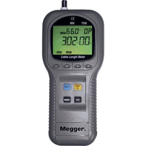 Megger TDR900 Portable, Handheld Time Domain Reflectometer