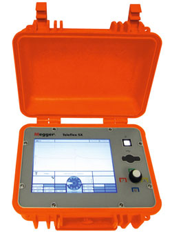 Rent Megger Teleflex SX Portable Reflectometer for Fault Location Systems