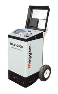 Megger PFL40A Series Cable Fault Location/High Voltage Test