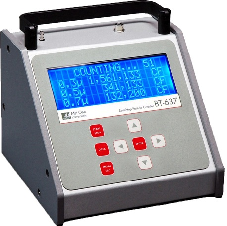Beckman Coulter Met One BT-637 Bench Top Laser Particle Counter