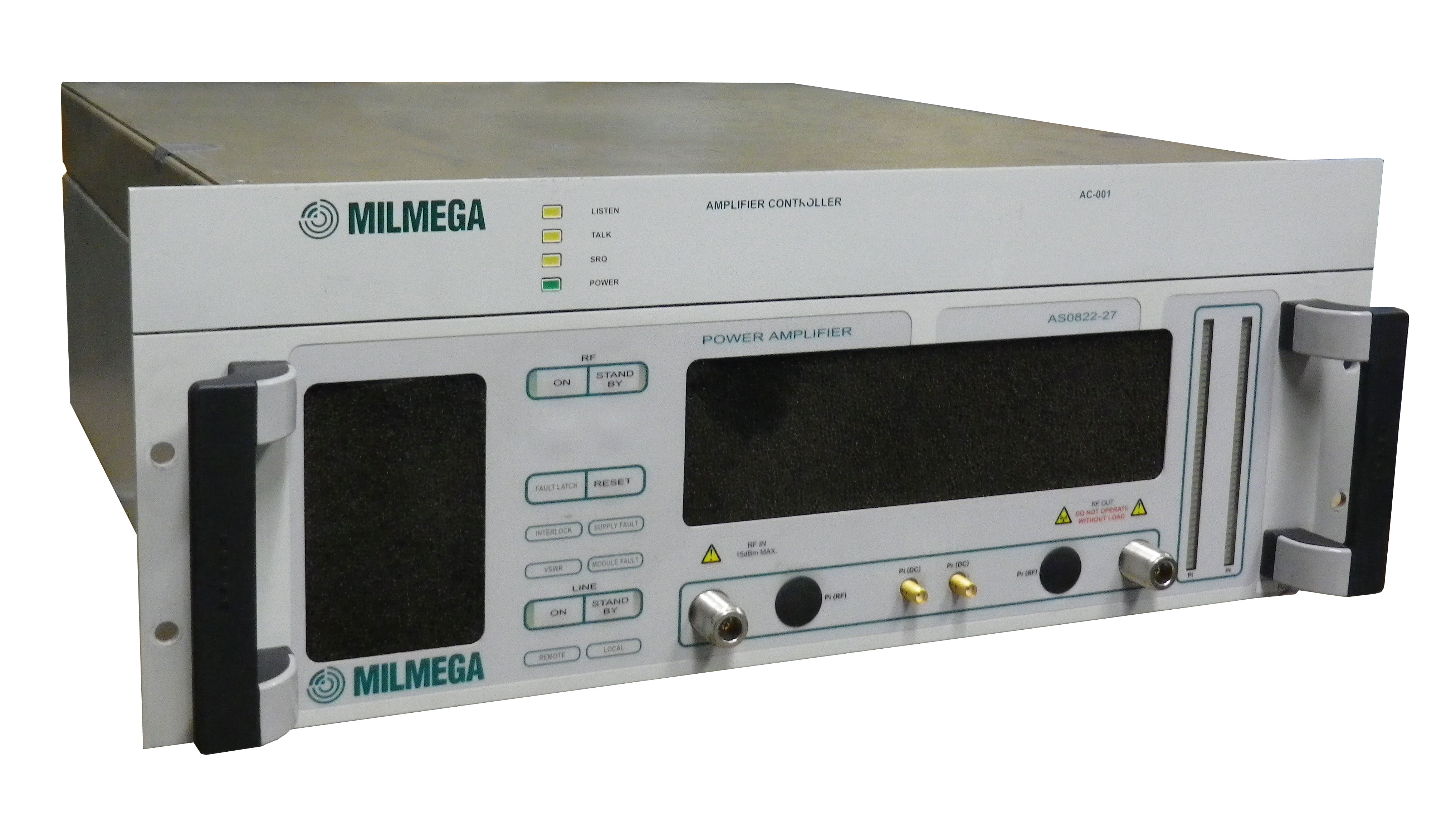 Rent Milmega AS0822 27 Watt 0.8 GHz-2.2 GHz Broadband Amplifier