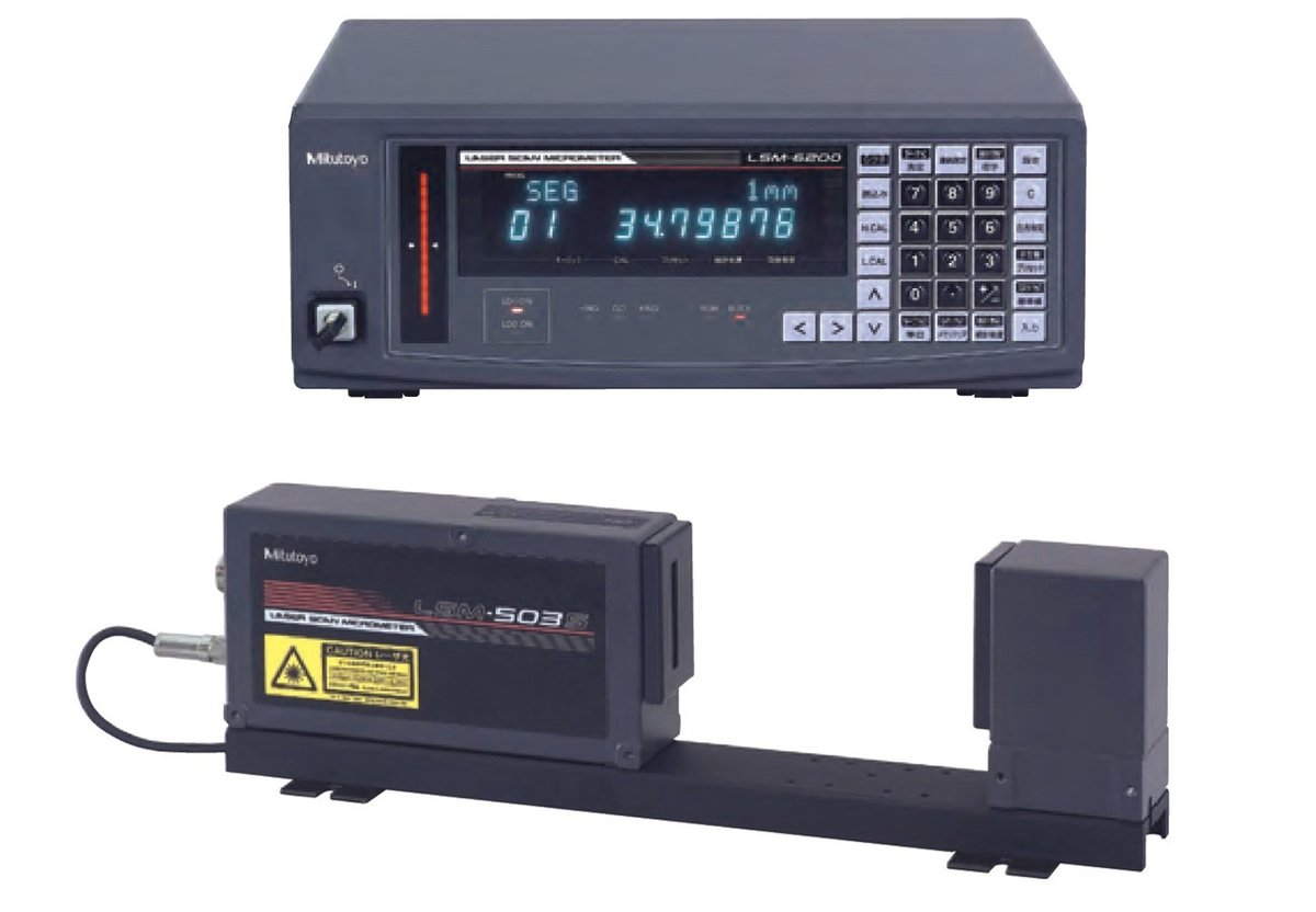 Mitutoyo LSM-503S Micrometer + LSM-6200 Display Unit