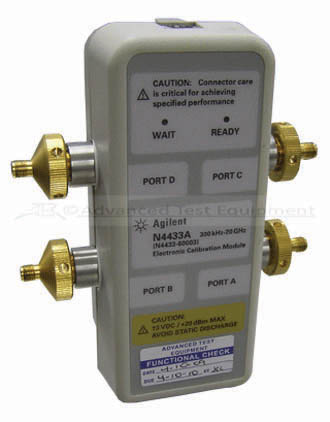 N4433A Electronic Calibration Module 300 kHz - 20 GHz